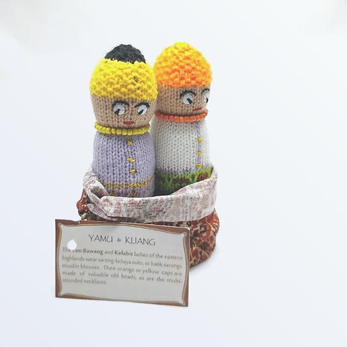 Knitted Doll Lunbawang/Kelabit