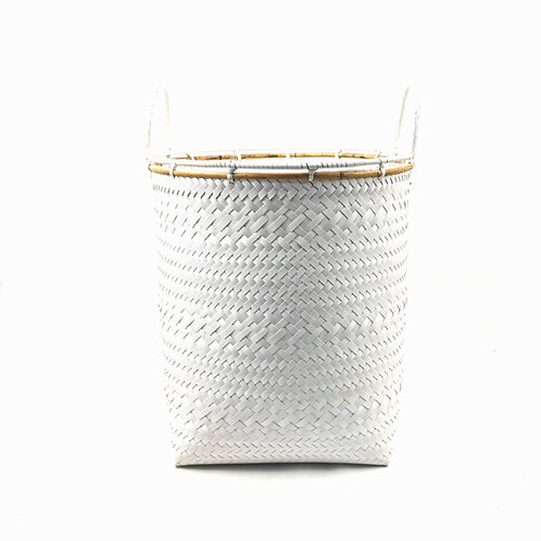 Laundry Basket (L) -White