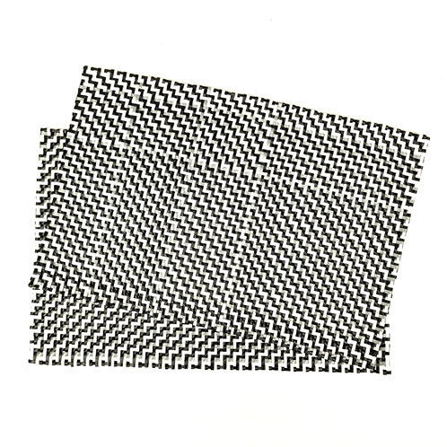 Tablemats - Black/Grey/White