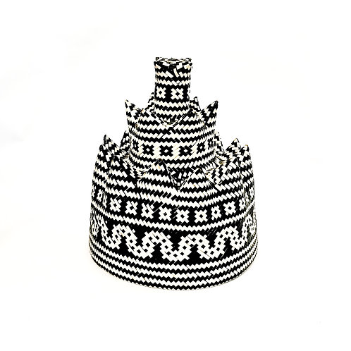 Hat White (Iban Style)
