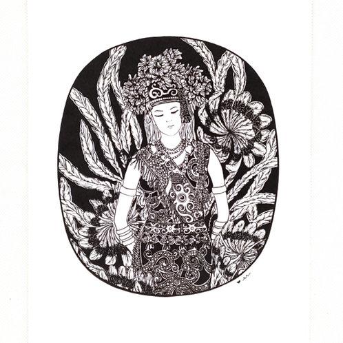Artprint - Orang Ulu