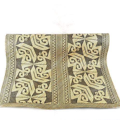 Floor Mat - Handwoven Rattan