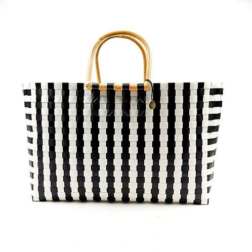 Basket (L) - Gingham