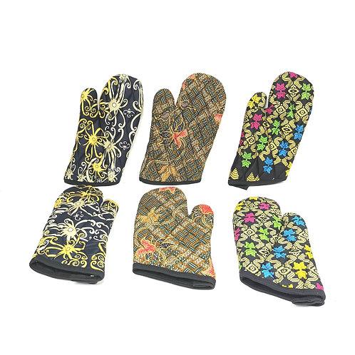 Oven Gloves -Batik