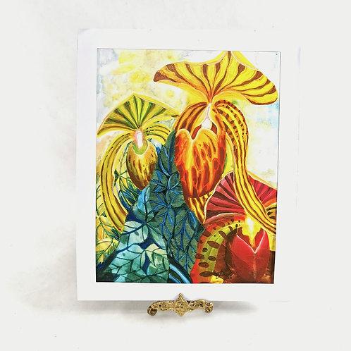 Artprint - Slipper Orchid*