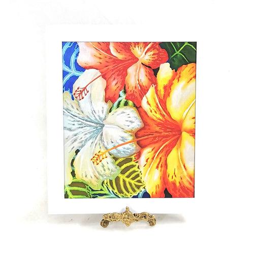 Artprint - Bunga Raya*