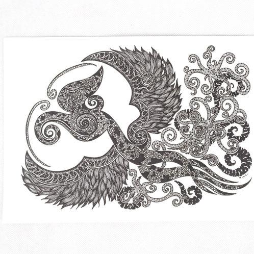 Artprint - Dancing Hornbill*