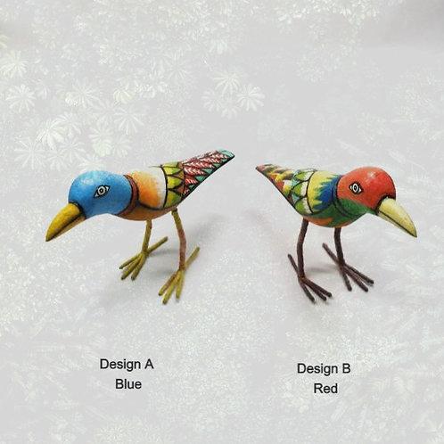 Coloured Wooden Bird
