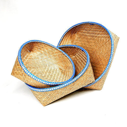 Basket set of 3pcs (Blue)