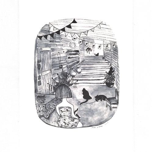 Artprint - Long House*
