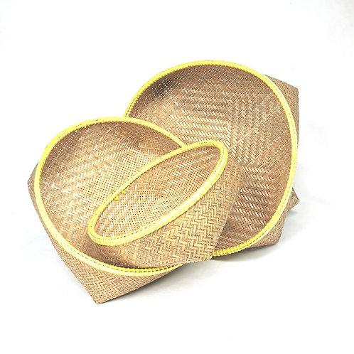 Basket set of 3pcs (Yellow)
