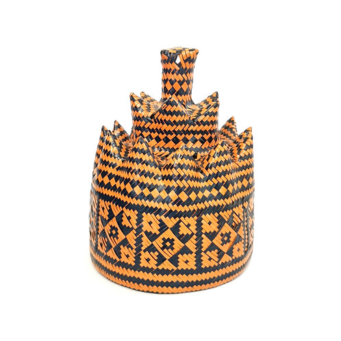 Hat Orange (Iban Style)