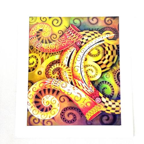 Artprint - Hornbills*