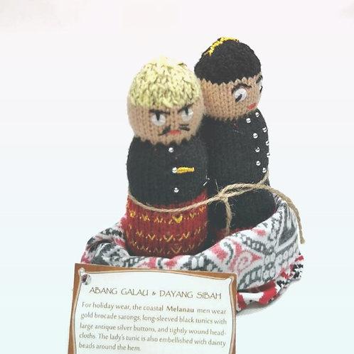 Knitted Doll Melanau