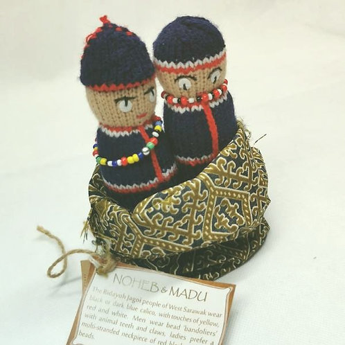 Knitted Doll Bidayuh/Jagoi