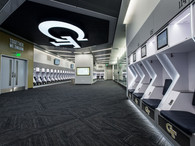 Georgia Tech Locker Room