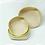 Thumbnail: Basket set of 3pcs (Yellow)