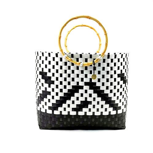 Basket (L)-Iban Gingham