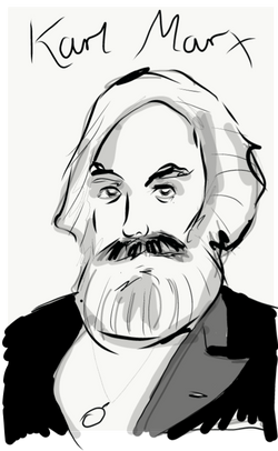 Karl Marx by J. Semmens