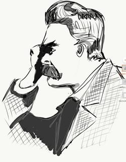 Nietzsche by J. Semmens