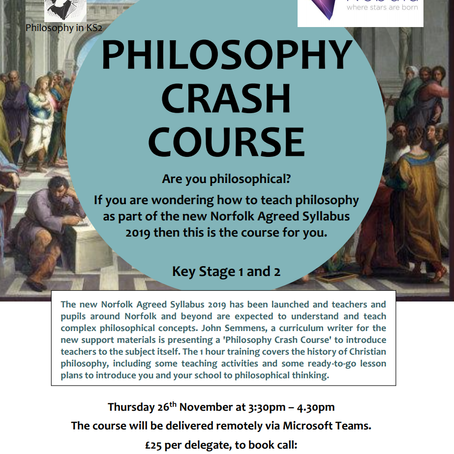 The Philosophy Crash Course is back!