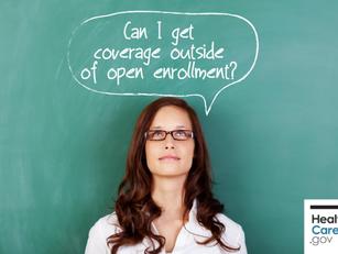 2017 Health Insurance Marketplace Open Enrollment Period