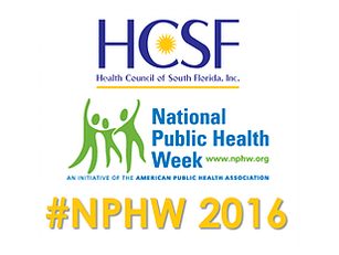 National Public Health Week 2016