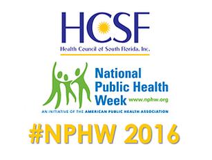 National Public Health Week 2016
