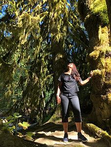 Foto in het bos
