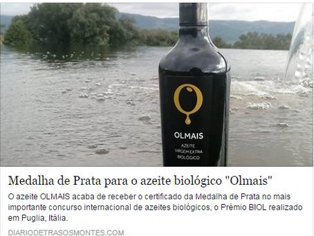 Olmais in Diário de Trás-os-Montes