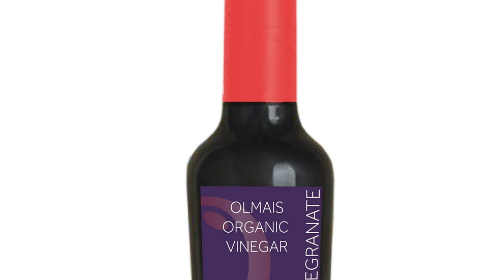 Olmais Organic Pomegranate Vinegar 250ml / 8.45floz
