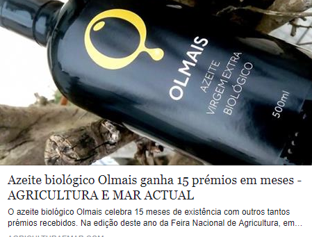 Olmais in Agricultura e Mar