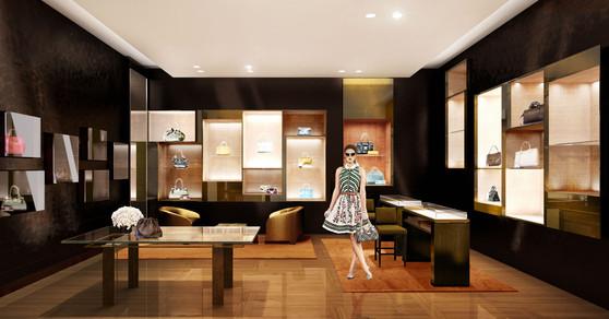 Renderings for Louis Vuitton