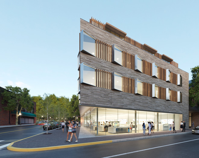 Renderings for residential building in Long Island, NY