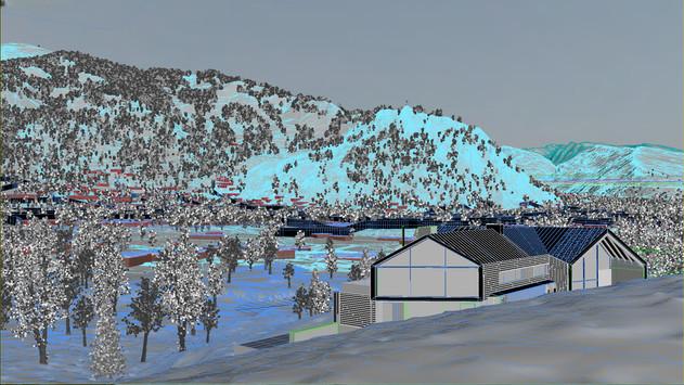 Actual Aspen terrain from real data