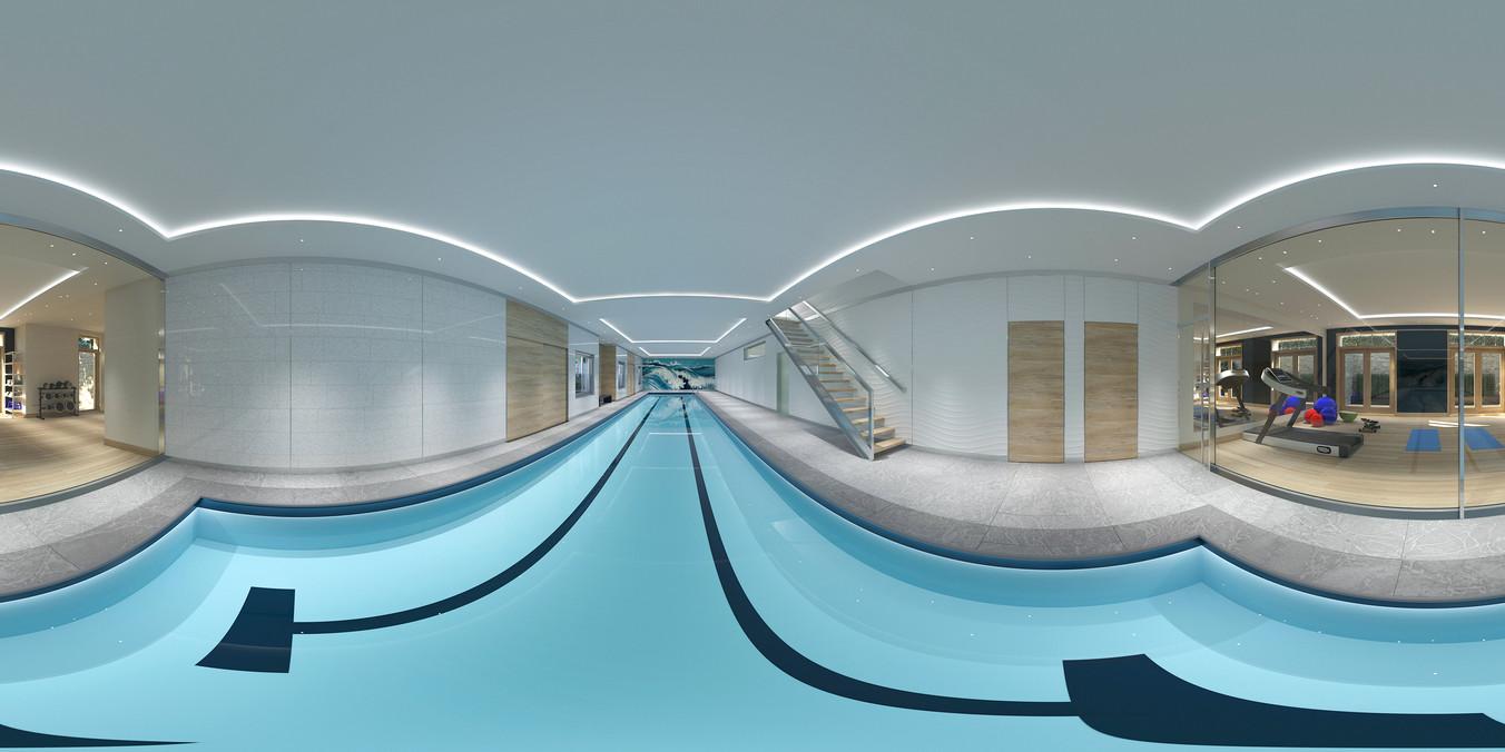 Panorama indoor pool
