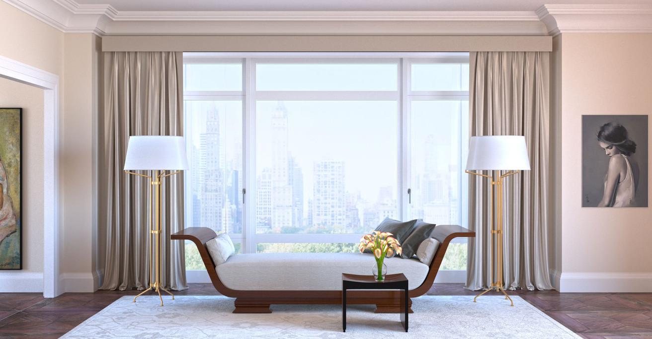 Photorealistic interior design renderings