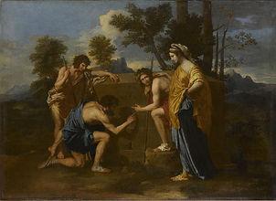 Et in Arcadia ego, les bergers d'arcadie, Nicolas Poussin
