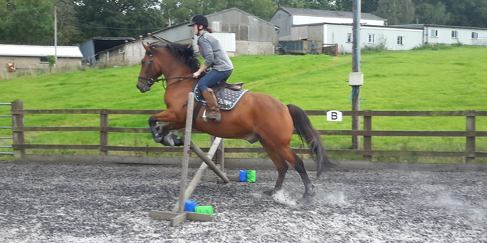 Jumping Clinic Sunday 18th July with Kate White