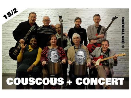 Couscous-concertavond 15 februari