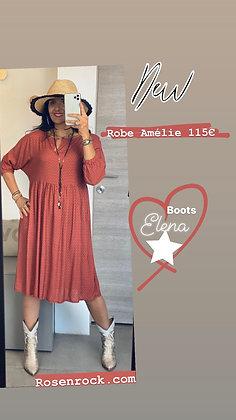 Robe Amélie tomette