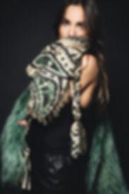 Foulard femme très tendance pour un style boho chic.