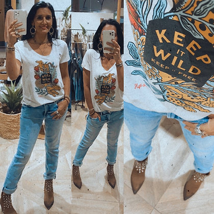 Tshirt keep wild