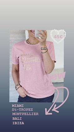 Tshirt anouk pink