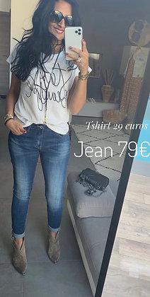 Jean brut strech  ROSEMARINE