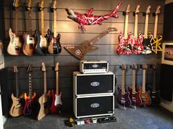 guitar display wall