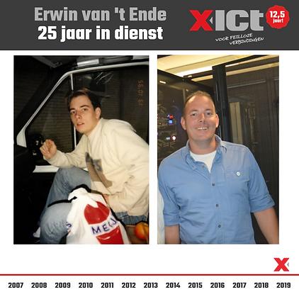 X-ICT 12,5 jaar - Erwin van t ende