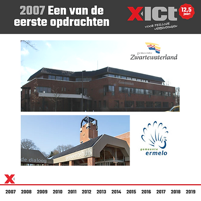 X-ICT 12,5 jaar - Een van de eerste opdr