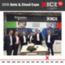X-ICT 12,5 jaar - Data & Cloud expo 2016