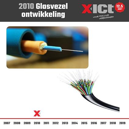X-ICT 12,5 jaar - Ontwikkeling glasvezel